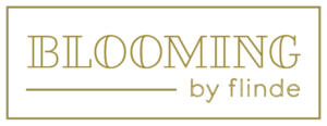 Logo Blooming by Flinde 300x116