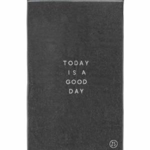 Zusss badhanddoek good day 60x115cm antracietgrijs 0602 005 1002 00 voor