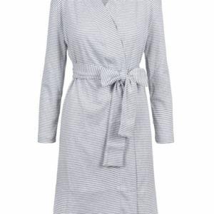 Zusss badjas met streep wit 0606 003 0500 voor