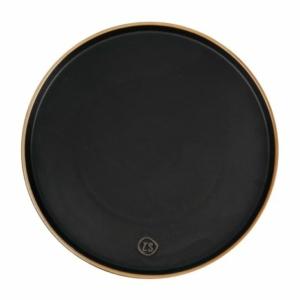 Zusss dinerbord aardewerk zwart 0701 019 0000 00 voor