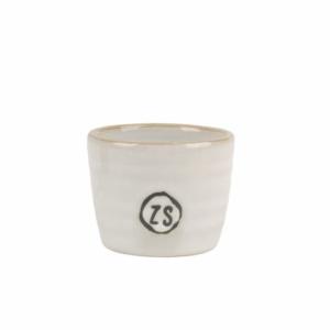 Zusss eierdopje aardewerk wit 0704 004 0500 00 voor