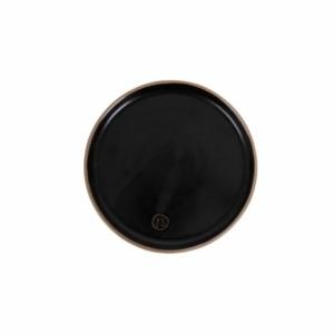 Zusss gebaksbordje aardewerk zwart 0701 003 0000 00 voor