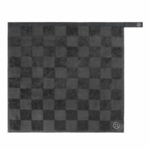 Zusss handdoek geblokt antracietgrijs 0710 029 4500 00 voor