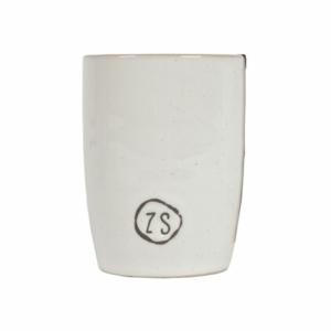 Zusss koffiemok aardewerk wit 0703 001 0500 00 voor