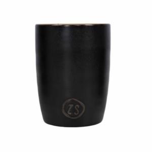 Zusss koffiemok aardewerk zwart 0703 001 0000 00 voor