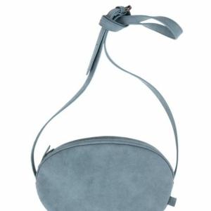 Zusss schoudertas ovaal grijs blauw 0204 013 1034 00 voor