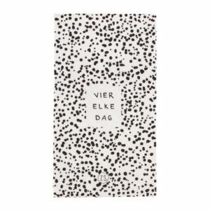 Zusss servetten papier vier elke dag wit 0711 017 0500 00 voor