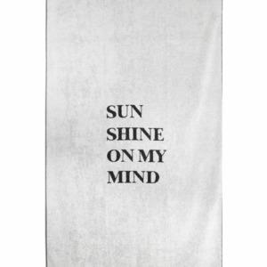 Zusss strandlaken sunshine 90x200cm grijs 0602 012 1002 00 voor